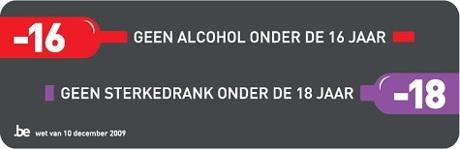 Geen verkoop van alcohol aan minderjarigen